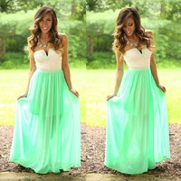 Hidden Meadows Maxi Dress