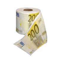 INFMETRY:: Euro Money Printed Toilet Paper & Dollar Bill Tissue - Home&Decor