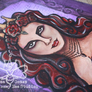 Original Art, Wall Art: Reyna The Evil Queen