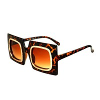 Cool Womens Retro Fashion Style Square Sunglasses Shades R2980