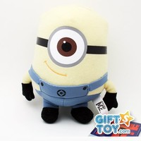 Despicable Me The Movie Minion Stewart 6 inch (Small) Stuffed Plush Doll