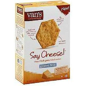 Van's International Foods Say Cheese Crackers (6x5oz )