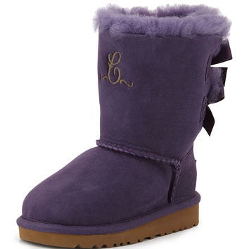 Kids' Bailey Boot with Bow, Petunia, 13T-4Y - UGG Australia