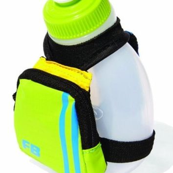 FuelBelt Kids Dash 7-OZ. Palm Holder, Blue/Green, One Size