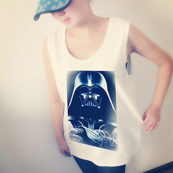 Star Wars Storm Troope Shirt Crop Top Tank Tops T-Shirt , Women Sexy Hipster Shirt , Custom Photo T-Shirt