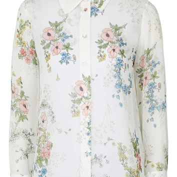 **Hambledon Blouse By Unique - Topshop