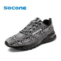 Socone Mens 2017 Trail Running Shoes Male Sport Sneakers Walking Sneakers Athletic Training Shoes Traininers Zapatilla Hombre