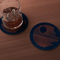 Star of Death Drink Coaster