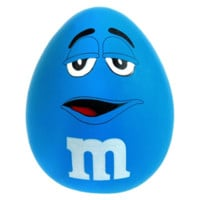 M&M's Stress Relief Ball - Blue | Squeeze Stress Balls - Stress Balls