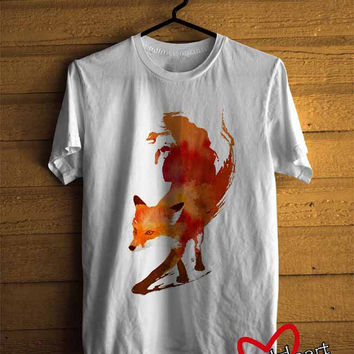 Mens T-shirt : Fox