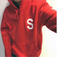 Supreme embroidery Hedging Hooded pullover long sleeve Sports sweater TOP