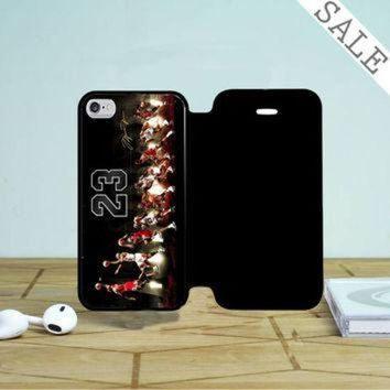 DCKL9 Michael Jordan Air 23 iPhone 4 |4S Flip Case