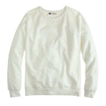 J.Crew Mens Industry Of All Nations Reverse Fleece Sweatshirt