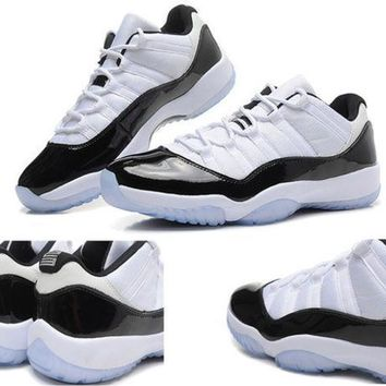 PEAPON1 Air Jordan retro 11 bred lows basketball shoes sneakers 11s XI men high cut low Outdoors sports shoes