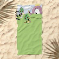 Off with Her Head! Beach Towel by lalainelim