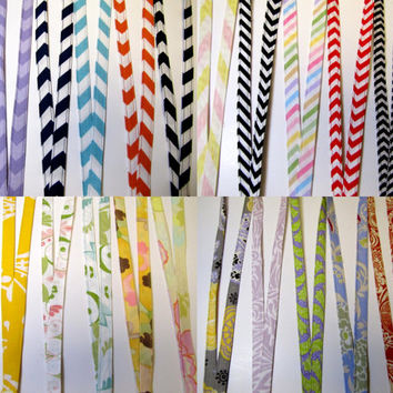 Fabric Lanyards Pick From over 70 Patterns by creationsbyarlene