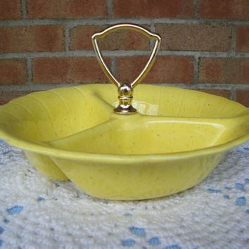 Vintage Lane & Co. California Three Section Serving Dish
