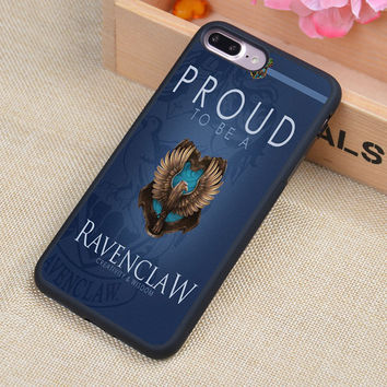 Harry Potter Ravenclaw Print Phone Case Skin Shell For iPhone 6 6S Plus 7 7 Plus 5 5S 5C SE 4 4S Rubber Soft Cell Housing Cover