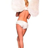 Hot~~sexy Fairy Tinkerbell 3-piece Adult Outfit Halloween Costume