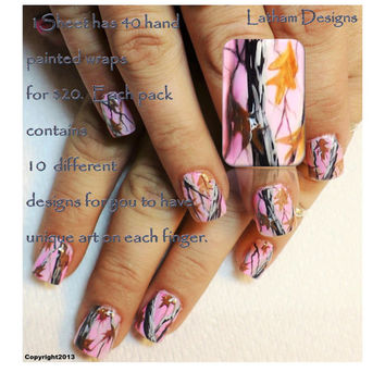 Shop Camo Nails On Wanelo