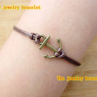Welcome to my shop,Rudder bracelet,anchor Bracelet,Antique Silver Bracelet, , If you like it, click the collection