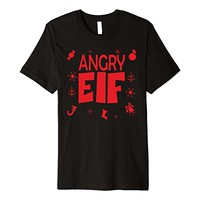 Angry Elf Group of Emotional Elves Premium T-shirt