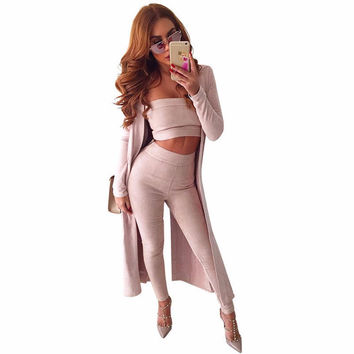 Free Shipping Leather suede off shoulder bodycon jumpsuit romper Autumn party elegant jumpsuit Zipper women two piece outfits