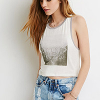 Faded Cactus Graphic Tank