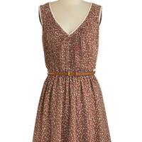 ModCloth Short Length A-line Bonfire Bubbly Dress