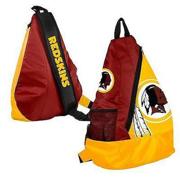 Washington Redskins BackPack / Back Pack Book Bag NEW - TEAM COLORS - SLING