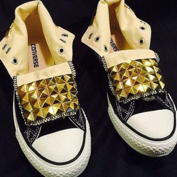 DCKL9 Studded Custom Converse Chuck Taylor Sneakers