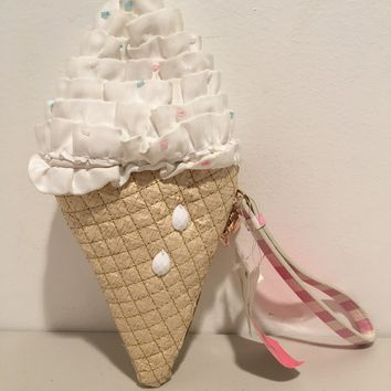 Betsey Johnson Ice Cream Wristlet