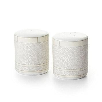 Ralph Lauren Vivienne China Salt & Pepper Shaker - Cream