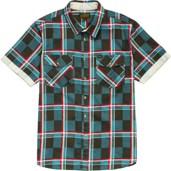 Loser Machine Derby Shirt - Short-Sleeve - Men's Smoke Blue,