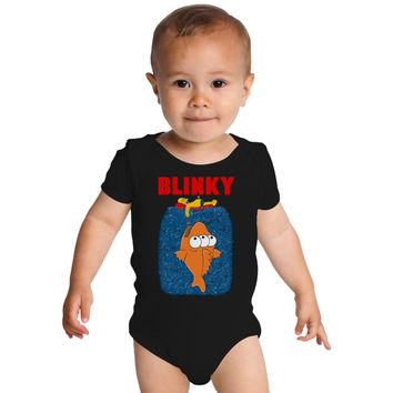 Blinky Jaws Baby Onesuits