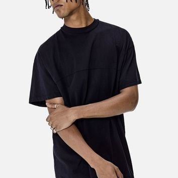 Mock Panel Tee / Dark Navy - JOHN ELLIOTT