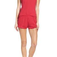 Betsey Johnson Ribbed Short Pajamas | Nordstrom