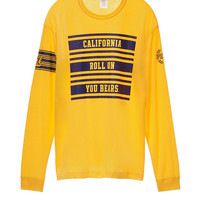 University of California - Berkeley Long Sleeve Campus Tee - PINK - Victoria's Secret