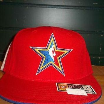 CREYONC. 2004 NBA ALL-STAR GAME (REEBOK) FITTED HAT (YOU PICK ONE)