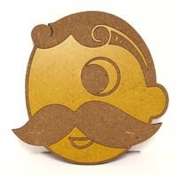 Natty Boh Logo / Wooden Coaster