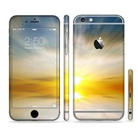 The Bright Blurred Sunset Sectioned Skin Set for the Apple iPhone 6 Plus