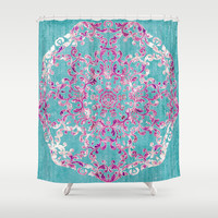 Reinventing A Taste of Lilac Wine Shower Curtain by Octavia Soldani | Society6