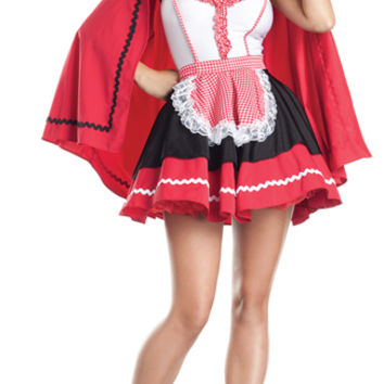 Romantic Red Riding Hood Costume, Sexy Little Red Costumes, Red Riding Hood Outfits