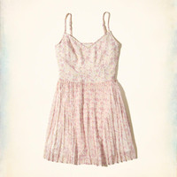 Girls Ruffle Skater Dress | Girls Clearance | HollisterCo.com