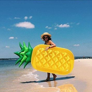 Pineapple Pool Float Large Outdoor Inflatable Pool Floats