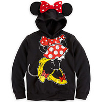 Disney Minnie Mouse Ear Hoodie for Girls | Disney Store