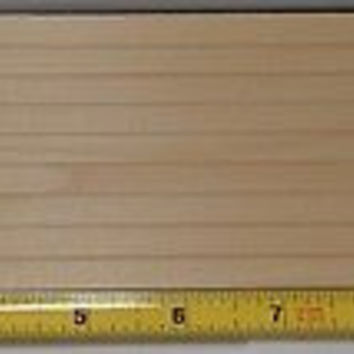 "3/8"" Lap Clapboard Siding Panels 13"" x 3-1/2"", Birch, 5 pc"