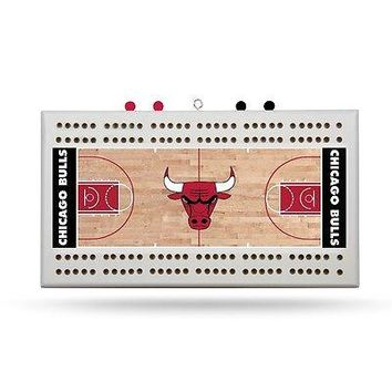 Chicago Bulls NBA Licensed 2 Track Cribbage Board