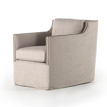 Lucca Swivel Chair - Bennett Moon