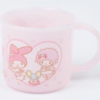 My Melody Plastic Cup: Cafe